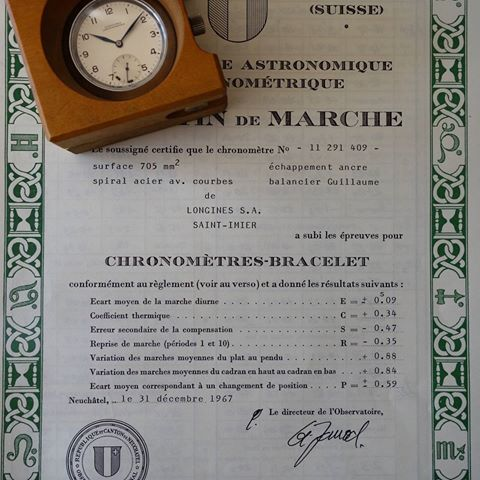Chứng nhận Chronometer và COSC
